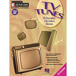Hal Leonard TV Tunes - 10 Favorite Television Themes Jazz Play Along Volume 64 Book with CD (843065)
