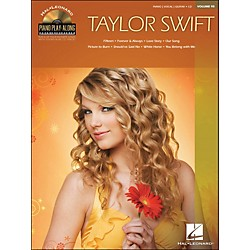 Hal Leonard Taylor Swift - Piano Play-Along Volume 95 (CD/Pkg) arranged for piano, vocal, and guitar (P/V/G) (311984)