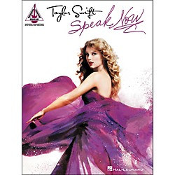 Hal Leonard Taylor Swift - Speak Now Guitar Tab Songbook (691063)