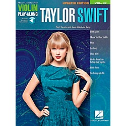 Hal Leonard Taylor Swift  Violin Play-Along Volume 37 Book/CD (116361)