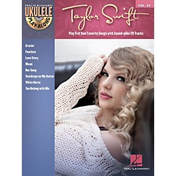 Hal Leonard Taylor Swift Ukulele Play-Along Vol 23 Book/CD (704106)