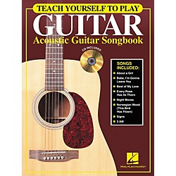 Hal Leonard Teach Yourself to Play Guitar - Acoustic Guitar (Songbook/CD) (699792)