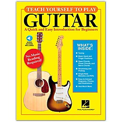 Hal Leonard Teach Yourself to Play Guitar Book/CD (696029)