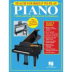 Hal Leonard Teach Yourself to Play Piano Book (311085)