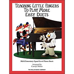 Hal Leonard Teaching Little Fingers To Play - More Easy Duets Book Only 1 Piano 4 Hands (416832)