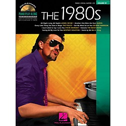 Hal Leonard The 1980s Piano Play-Along Volume 59 Book/CD arranged for piano, vocal, and guitar (P/V/G) (311462)
