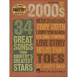 Hal Leonard The 2000s Country Decade Series arranged for piano, vocal, and guitar (P/V/G) (311281)