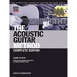 Hal Leonard The Acoustic Guitar Method Book with Online Audio Tracks (695667)
