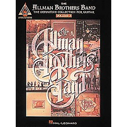 Hal Leonard The Allman Brothers Band - The Definitive Collection for Guitar - Volume 3 (694934)