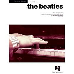 Hal Leonard The Beatles - Jazz Piano Solos Series Vol. 28 (119302)