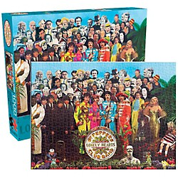 Hal Leonard The Beatles  Sgt. Pepper 1000-Piece Jigsaw Puzzle (125615)