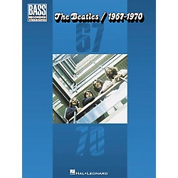 Hal Leonard The Beatles 1967-1970 Bass Guitar Tab Songbook (690557)