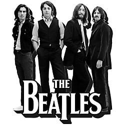 Hal Leonard The Beatles Black and White - Chunky Magnet (125623)