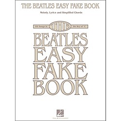 Hal Leonard The Beatles Easy Fake Book (240309)