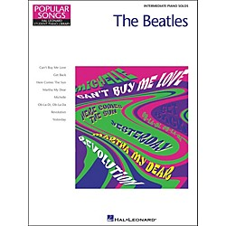 Hal Leonard The Beatles Intermediate Piano Solos Popular Songs Hal Leonard Student Piano Library by Eugenie Roch (296649)