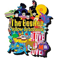 Hal Leonard The Beatles Yellow Submarine  Chunky Magnet (125624)