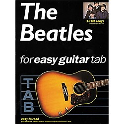 Hal Leonard The Beatles for Easy Guitar Tab Songbook (702119)