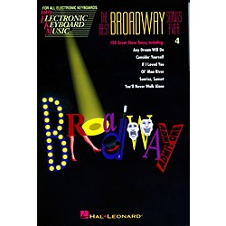 Hal Leonard The Best Broadway Songs Ever - Easy Electronic Keyboard Music Vol. 4 (243048)