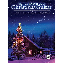 Hal Leonard The Best Easy Book Of Christmas Guitar Easy Guitar Tab Songbook (322154)