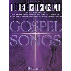 Hal Leonard The Best Gospel Songs Ever Piano, Vocal, Guitar Songbook (310503)