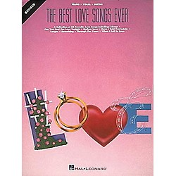Hal Leonard The Best Love Songs Ever Revised Piano, Vocal, Guitar Songbook (359198)