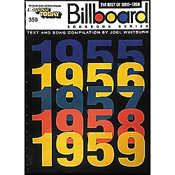 Hal Leonard The Best Of 1955-1959 Billboard Songbook Series E-Z Play 350 (102140)