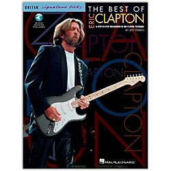Hal Leonard The Best Of Eric Clapton - Signature Licks Guitar Tab Songbook with CD (695038)