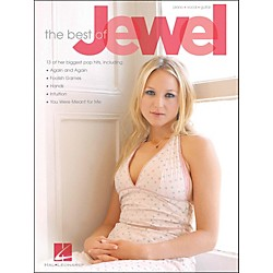 Hal Leonard The Best OfJewel arranged for piano, vocal, and guitar (P/V/G) (306818)