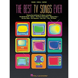 Hal Leonard The Best TV Songs Ever Piano, Vocal, Guitar Songbook (311048)