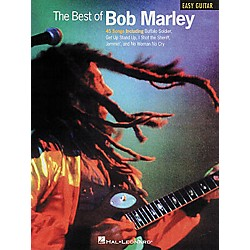 Hal Leonard The Best of Bob Marley Easy Guitar Tab Book (702105)