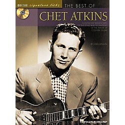 Hal Leonard The Best of Chet Atkins Guitar Signature Licks Book with CD (695752)