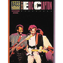 Hal Leonard The Best of Eric Clapton Bass Guitar Tab Songbook (660187)