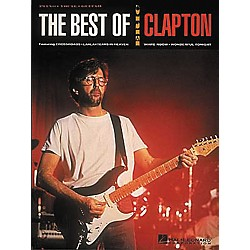 Hal Leonard The Best of Eric Clapton Piano, Vocal, Guitar Songbook (308182)