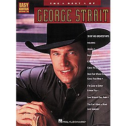 Hal Leonard The Best of George Strait Guitar Tab Book (702049)