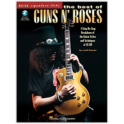 Hal Leonard The Best of Guns N' Roses Guitar Signature Licks Book with CD (695183)