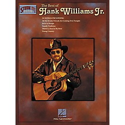 Hal Leonard The Best of Hank Williams Jr. Guitar Tab Songbook (699224)