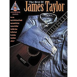 Hal Leonard The Best of James Taylor Guitar Tab Book (694824)