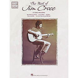 Hal Leonard The Best of Jim Croce Easy Guitar Book (702145)