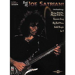 Hal Leonard The Best of Joe Satriani Guitar Tab Songbook (2501255)