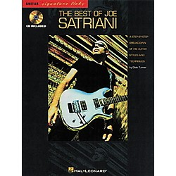 Hal Leonard The Best of Joe Satriani Signature Licks Book with CD (695216)