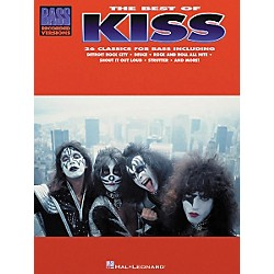 Hal Leonard The Best of Kiss Bass Guitar Tab Songbook (690080)
