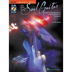Hal Leonard The Best of Soul Guitar Signature Licks Book with CD (695703)