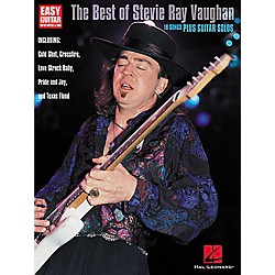 Hal Leonard The Best of Stevie Ray Vaughan Guitar Tab Book (702108)
