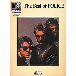 Hal Leonard The Best of The Police Bass Guitar Tab Songbook (660207)