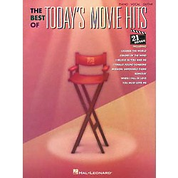 Hal Leonard The Best of Today's Movie Hits Piano, Vocal, Guitar Songbook (310242)