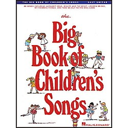 Hal Leonard The Big Book of Children's Songs Easy Guitar Tab Songbook (702027)