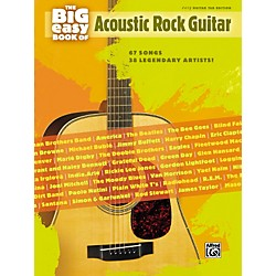 Hal Leonard The Big Easy Book of Acoustic Guitar Tab (322178)