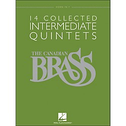 Hal Leonard The Canadian Brass: 14 Collected Intermediate Quintets Songbook - Horn (50486956)