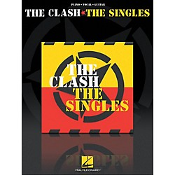 Hal Leonard The Clash The Singles arranged for piano, vocal, and guitar (P/V/G) (307035)