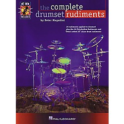 Hal Leonard The Complete Drumset Rudiments Book/CD Package (6620016)